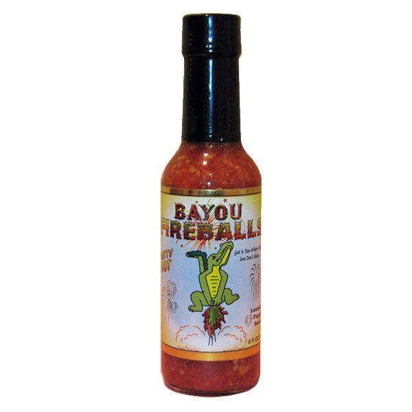 Bayou Fireballs Louisiana Pepper Sauce
