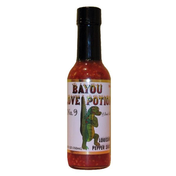 Bayou Love Potion No. 9 Pepper Sauce