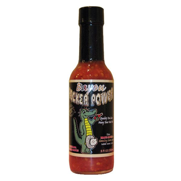 Bayou Pecker Power Hot Sauce