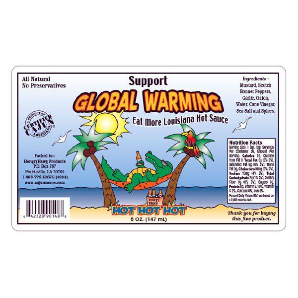 Global Warming Hot Sauce