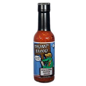 Trump Bayou Cajun Hot Sauce